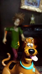Wait for me Scooby Doo (custombase) Tags: scoobydoo figures scooby scoobe shaggy norville rogers haunted house diorama toyphotography