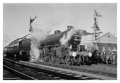 The Last B1 (ianrwmccracken) Tags: train lastb1excursion monochrome railway scotland 35mm scottish steam