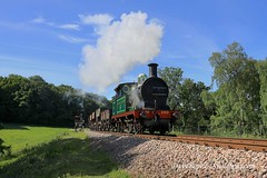 1st June 2019. Service trains and a goods on the Bluebell. (Dangerous44) Tags: 263 hclass goods bluebell railway steam