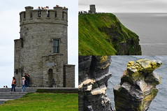 IRLANDA (JCassiano) Tags: irlanda ireland éire república republic of europa europe união europeia the cliffs moher penhascos falésias montanhas mountains torre de o'brien tower mirante mar sea