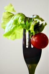 House Salad (helensaarinen) Tags: macromondays stylingfoodonfork salad yummy