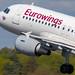 Flughafen Berlin Tegel (TXL): Eurowings Airbus A319-112 A319 operated by Germanwings D-ABGJ MSN 3415