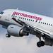 Flughafen Berlin Tegel (TXL): Eurowings Airbus A319-112 A319 operated by Germanwings D-AKNO MSN 1147
