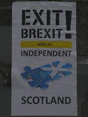 Exit Brexit! (stillunusual) Tags: edinburgh city scotland uk brexit independence holiday vacation travel travelphotography travelphoto travelphotograph 2019