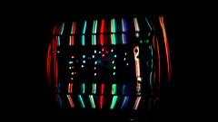 Neon Lights (WatermelonHenry) Tags: 618 618am glassreflection ovendoor colouredneon colouredglow colouredneonlights colouredlights reflectioncolours reflecting overdoor neonlightsreflectedonovendoor fridger elland reflection lights neonlights neon leeds oven cooker cookerdoor