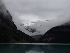 Early Morning Lake Louise (altamons) Tags: rockymountains rocky rockies park nationalpark national mountainview mountains mountain hiking hike canadianrockies canadian canada banffnationalpark banff altamons alberta lakelouise clouds sky