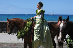 pa'u rider (BarryFackler) Tags: kingkamehamehaday2019 kingkamehamehadayparade horse equestrian equine animal paurider pauskirt pau pauprincess 2019 kona konacoast kailuakona aliidrive street outdoor seawall kailuabay kingkamehamehaday parade kingkamehamehadayparade2019 woman wahine female lady horsewoman rider flowers flora hawaii hawaiiisland hawaiicounty northkona hawaiianislands bigisland polynesia sandwichislands barryfackler barronfackler beautiful ocean westhawaii island pacificocean