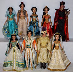 Limited Edition 17'' Dolls For Aladdin by Disney Store - Complete Collection (drj1828) Tags: wedding disneystore uk purchase 2019 doll collectible 17inch platinum dollset deboxed jasmine princess prince aladdin 2015 us d23 complete groupphoto collection liveactionfilm animated
