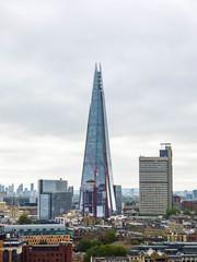 A Shard Attack (Steve Taylor (Photography)) Tags: shard guyshospital skyscraper architecture building uk gb england greatbritain unitedkingdom london autumn cloud londonbridge southwark