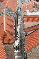Zlatarska Ulica - Dubrovnik, Croatia (russ david) Tags: dubrovnik croatia view adriatic sea balkans architecture hrvatska republic republika november 2018 zlatarska street ulica roof top