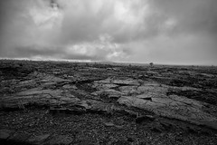 Bleakness (michael.mu) Tags: hawaii kilauea leica m240 volcano volcanonationalpark 21mm 21f34superelmar lava maunaulu landscape blackandwhite bw silverefexpro