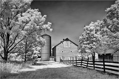 Garfield Farm (chuck.hunnicutt) Tags: infrared garfieldfarm farm camptonhillsillinois