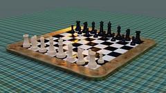 Chess Set (PhotonPirate) Tags: blender render cycles chess set 3d vfx