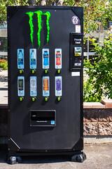 Monster Vending Machine (Bracus Triticum) Tags: monster vending machine calgary カルガリー アルバータ州 alberta canada カナダ 6月 六月 水無月 rokugatsu minazuki monthofwater 2018 reiwa summer june