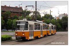 Tram Budapest - 2019-37 (olherfoto) Tags: tram tramcar tramway villamos strasenbahn budapest ungarn hungary bkv tatra t5c5