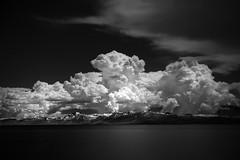 Lake Tahoe (nlwirth) Tags: nlwirth yup infrared ir clouds lake mountains water laketahoe california longexposure blackandwhite monochrome light