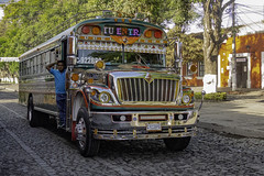 Your old school bus could be spending its retirement years in Guatemala -EXPLORED 6/23/2019- (PriscillaBurcher) Tags: bus guatemala antigua schoolbus busesinguatemala l1450496 explored inexplore