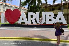 I ♥ Aruba (© Freddie) Tags: aruba oranjestad sign signage renaissance renaissancearubaresortcasino marinahotel fjroll ©freddie