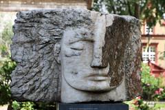'Archangel Michael' (Rick & Bart) Tags: statue sculpture memorial monument stpancrasparishchurch stpancras london city uk emilyyoung rickvink rickbart canon eos70d archangelmichael