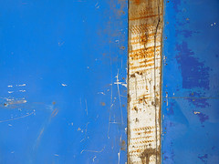 Bluebreaker (vavan) Tags: abstractphotography abstract wall blue white