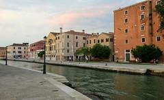 Quiet Days in Cannaregio (Robert Saucier) Tags: venise venezia venice building architecture eau water canal cannaregio img9190 arbres trees pavement