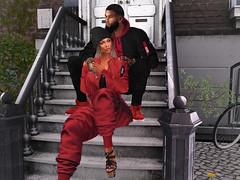 nous (syldinzel) Tags: dj syl dinzel second life mesh bento avi male female frennzi love couple fashion red