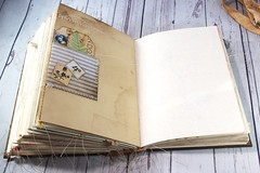 IMG_2609 (thejournalsquirrel) Tags: junkjournal journal thejournalsquirrel books bookbinder mixedmedia bookart paper art journaling artjournaling bibliophile ilovebooks commonplacebooks