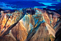 Mountain, Central Iceland (klauslang99) Tags: klauslang nature iceland central mountain landscape stark aerial