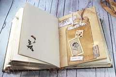 IMG_2601 (thejournalsquirrel) Tags: junkjournal journal thejournalsquirrel books bookbinder mixedmedia bookart paper art journaling artjournaling bibliophile ilovebooks commonplacebooks