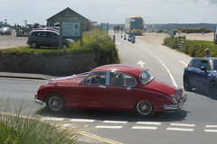 Here comes the bride...in great style (andreboeni) Tags: jaguar 38 mark2 1965 38litre mk2 wedding