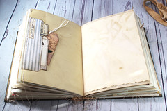 IMG_2595 (thejournalsquirrel) Tags: junkjournal journal thejournalsquirrel books bookbinder mixedmedia bookart paper art journaling artjournaling bibliophile ilovebooks commonplacebooks