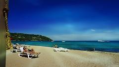 Lazy day...  (-‿◦☀) (Mona Zimba) Tags: summer sun seascape beach fun seaside sand côtedazur summertime provence frenchriviera pampelonnebeach sainttropez