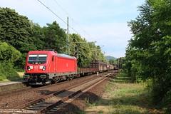 DBC 187 156 - Bonn Oberkassel (D) 22-06-2019. (NovioSites) Tags: unitcargo db dbc cargo br187 bombardier traxx trein train loc locomotive zug bonn oberkassel germany duitsland nrw nordrhein westdalen rail