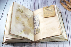 IMG_2589 (thejournalsquirrel) Tags: junkjournal journal thejournalsquirrel books bookbinder mixedmedia bookart paper art journaling artjournaling bibliophile ilovebooks commonplacebooks