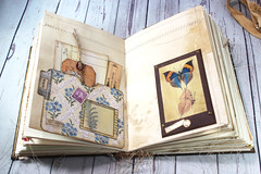 IMG_2586 (thejournalsquirrel) Tags: junkjournal journal thejournalsquirrel books bookbinder mixedmedia bookart paper art journaling artjournaling bibliophile ilovebooks commonplacebooks