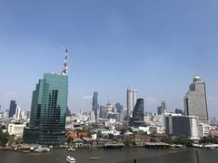 Bangkok (ChalidaTour) Tags: thailand thai asia asian bangkok city chaopraya river downtown mall buildings boats