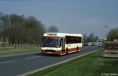 J26GCX TM Travel (theroumynante) Tags: j26gcx tm travel daf sb220 optare delta royal hospital calow chesterfield bus buses lowfloor singledeck road transport stepentrance