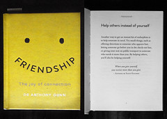 Friendship: It's More Than Words (the hopeful pessimist) Tags: flickrfriday book still life friendship friends yellow happy face emoji text self help psychology learning education reading pages literature anthonygunn