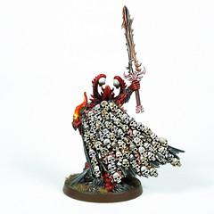 Uzhul, the Skulltaker (2019) (Uruk's Customs) Tags: citadel games workshop warhammer wh40k aos wfb chaos daemons khorne herald skulltaker uzhul bloodletter