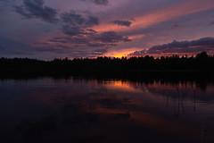 Sunset (jannaheli) Tags: suomi finland lappeenranta mättö nikond7200 naturephotography naturetherapy cottagelife sunset landscape nature summerevening lake