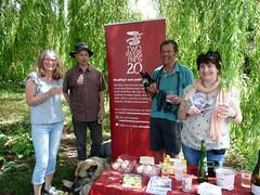 June 22nd, 2019 Book launch - Rural Reading (karenblakeman) Tags: uk reading booklaunch ruralreading adrianlawson trees dog cake wine rita millie weepingwillow berkshire geoffsawers june 2019 2019pad