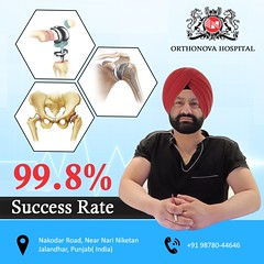 Knee Replacement | Hip Replacement | Hospital | Amritsar | Orthonova | Dr Harprit (orthonovahosp) Tags: knee replacement amritsar cost hospital hip