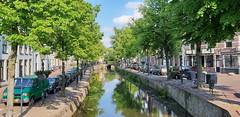 Havik, gracht in de namiddag (peter.velthoen) Tags: amersfoort havik zomerdag gracht water middeleeuwsebinnenstad binnenstad oudestad schoonheid
