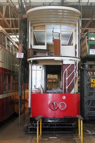 Trams: Blackpool Transport: 143 Rigby Road Tram Depot