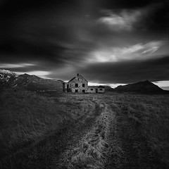 Abandoned house (frodi brinks photography) Tags: photography house abandoned blackandwhite frodibrinks iceland