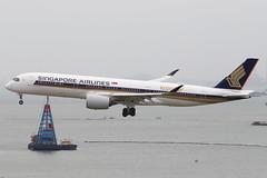 SQ A359 9V-SMF @ SQ860 (EddieWongF14) Tags: singaporeairlines airbus airbusa350 airbusa350900 airbusa350941 a350 a359 a350900 a350941 9vsmf