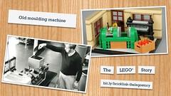 Comparison photo - Old moulding machine (BrickJonas) Tags: lego factory story history bricklink afol designer program