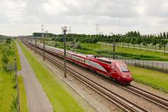 Thalys 4303 & 4301 - Lage Zwaluwe (rvdbreevaart) Tags: thalys tgv lagezwaluwe hsl hslzuid trein eisenbahn railway ferrovie raw rawtherapee nmbs sncb