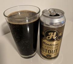 mmmm....beer (jmaxtours) Tags: mmmmbeer beer ale hendersonexportstout exportstout hendersonbrewingco hendersonbrewing toronto ontario stout torontoontario