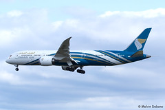 Oman Air Boeing 787-9 Dreamliner  |  A4O-SD  |  Frankfurt Rhein-Main  - EDDF (Melvin Debono) Tags: cn plane canon germany airplane deutschland photography airport frankfurt aircraft aviation air planes boeing melvin oman spotting fra | debono rheinmain eddf dreamliner 38892 7879 a4osd